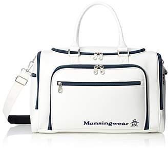 Munsingwear (マンシングウェア) - [マンシングウェア] ボストンバッグ MQBLJA00 WH00(ホワイト) WH00(ホワイト)