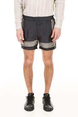 Massimo Alba Silk Paraggi Shorts