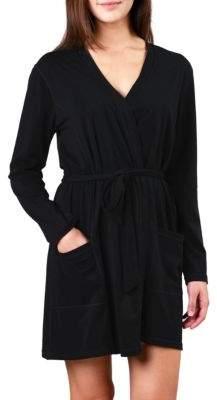 Naked Essential Cotton Wrap Robe