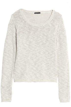 Mélange Cotton And Linen-Blend Sweater