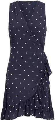 Rails Madison Polka Dot Wrap Dress