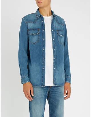 Diesel D-East-W regular-fit denim shirt