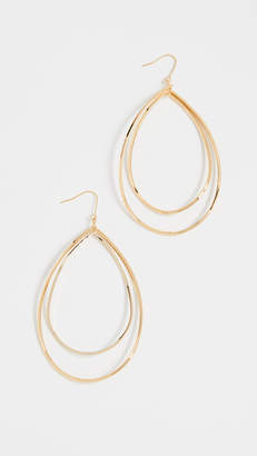 Jules Smith Designs Curved Double Hoop Earrings