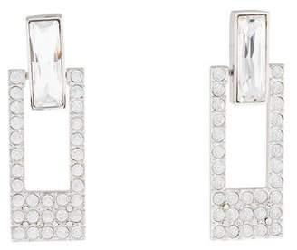 Judith Leiber Dara Crystal Cutout Drop Earrings