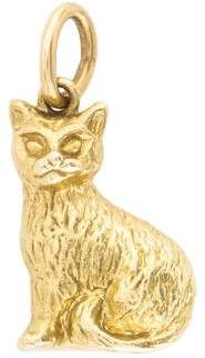 Tiffany & Co. 18K Cat Charm