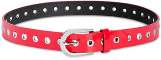 DKNY Spazzolato Grommeted Belt, Created for Macy's