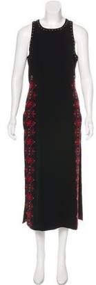 Cinq à Sept Embroidered Maxi Dress