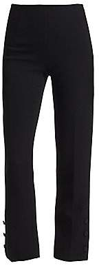 Lela Rose Women's Button Detail Pants