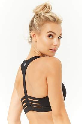 Forever 21 Medium Impact - Caged Sports Bra