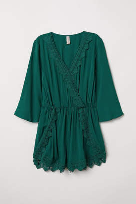 H&M Jumpsuit with Lace - Green