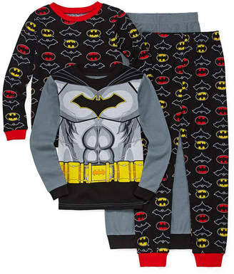 Batman 4-pc. Pajama Set Boys