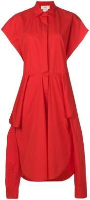 Ports 1961 oversized asymmetric shirt dress