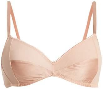 Araks Yanelis cotton-crepe triangle bra