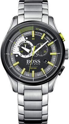 HUGO BOSS 1513336 yachting timer II stainless steel watch