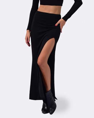 Maya Extended High Waist Skirt