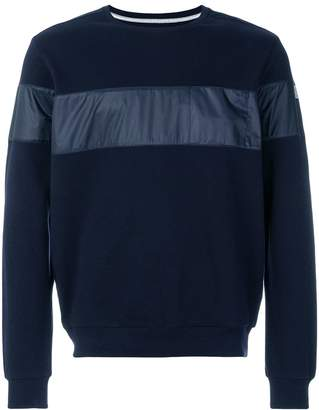 Paul & Shark panelled sweatshirt