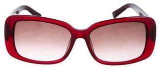 Fendi Zucca Square Sunglasses