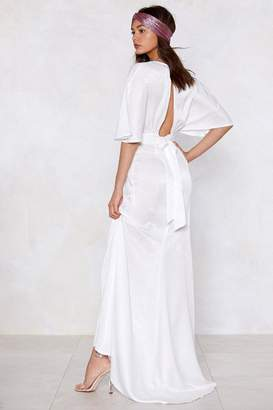 Nasty Gal Rise To The Occassion Maxi Dress