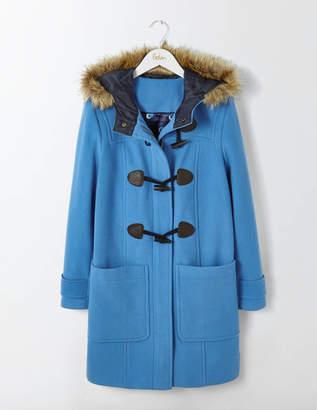 Wool Duffle Coat Blue Women Boden