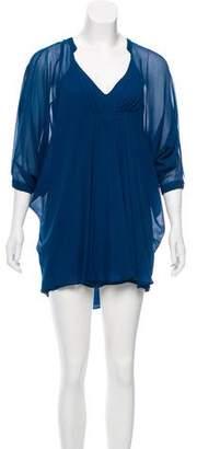 Diane von Furstenberg Fleurette Pleated Dress w/ Tags