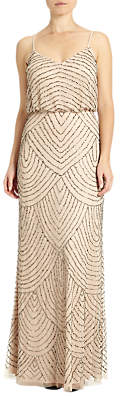Adrianna Papell Sleeveless Long Blouson Dress