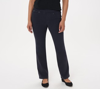 Belle By Kim Gravel Belle by Kim Gravel Petite Flexibelle Boot-Cut Jeans