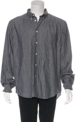 Billy Reid Chambray Button-Up Shirt w/ Tags