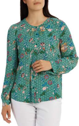 Regatta 3/4 Sleeve Collarless Soft Shirt