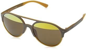 Police Sunglasses SPL163V Game 7 Oval Sunglasses