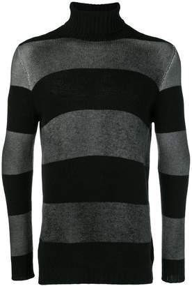 Avant Toi striped turtleneck sweater