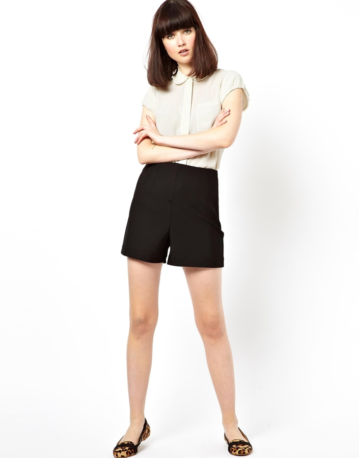 Asos Shorts With Extreme High Waist