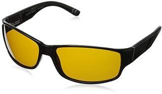 Foster Grant Men's Nautical Hd Polarized Rectangular Sunglasses