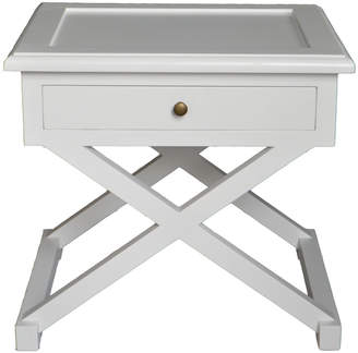 Levi's S & G Furniture Side Table White