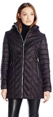 Nautica Women's Wellon Jacket with Hood $148 thestylecure.com