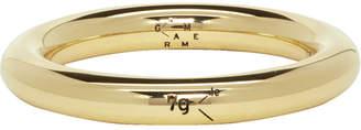 Le Gramme Gold Polished Le 7 Grammes Bangle Ring