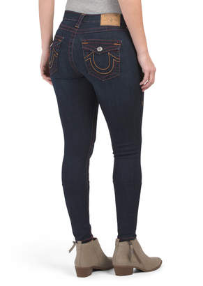 True Religion High Waisted Super Skinny Big T Jeans