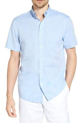 1901 Short Sleeve Trim Fit Dress Shirt