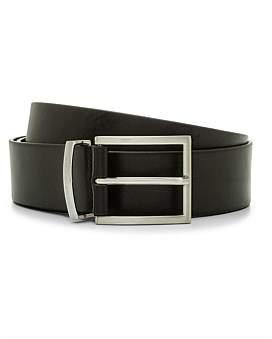 HUGO BOSS Buddy Leather Buckle Belt