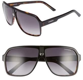 Carrera Eyewear 62mm Gradient Aviator Sunglasses