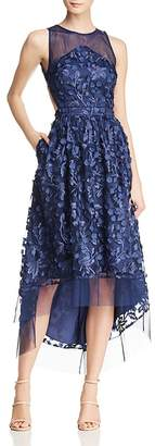 Aidan Mattox Embellished High/Low Dress