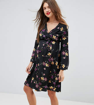 New Look Maternity Flare Sleeve Dress