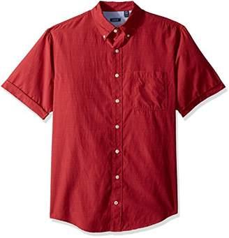 Izod Men's Big and Tall Saltwater Breeze Solid Short Sleeve Shirt