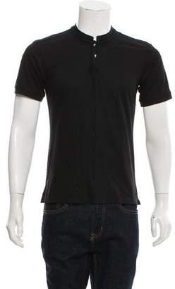 The Kooples Piqué Henley T-Shirt