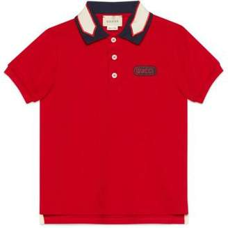 Gucci Children's polo with patch