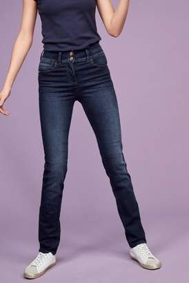 Next Womens Dark Blue Enhancer Slim Jeans