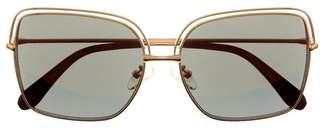 Vince Camuto Flat Square-lens Sunglasses