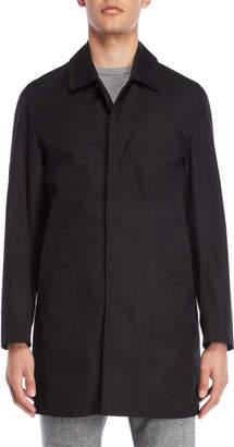 Daniel Hechter Jet Black Essential Trench Coat
