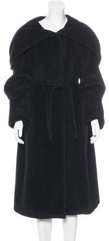 Max MaraMaxMara Alpaca Long Coat