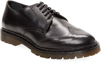 RED Valentino Leather Wingtip Oxford
