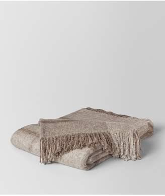 Bottega Veneta Graphite Medium Grey Alpaca And Wool Kaunis Blanket